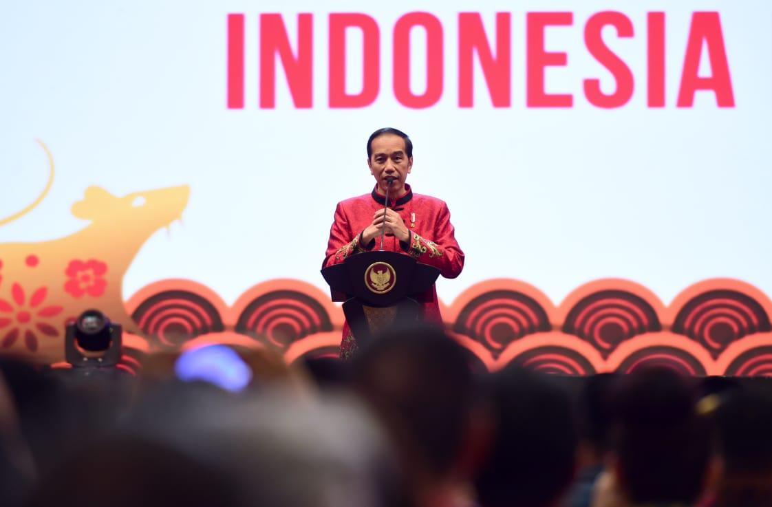 Hadiri Imlek Nasional 2020, Presiden: Mari Bekerja Lebih Keras 113