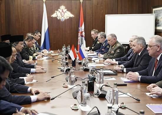 Kerjasama Militer Antara Rusia dan Indonesia Dapat Mencapai Tingkat Strategis 114
