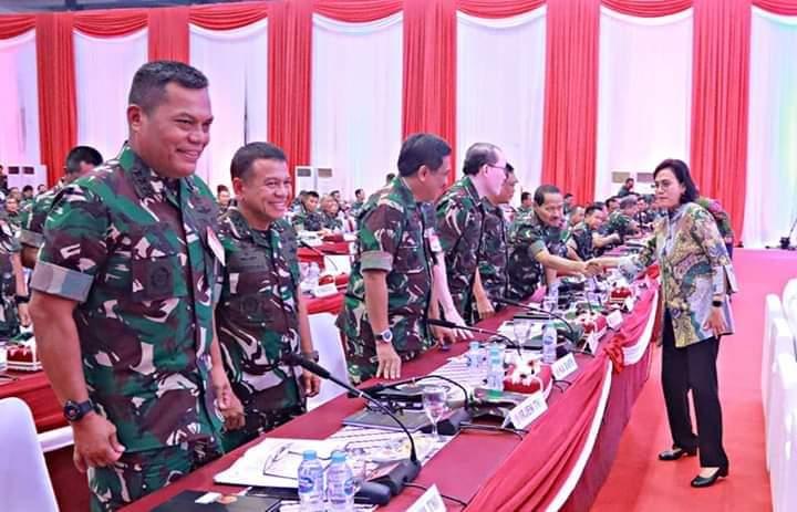 Kasau Marsekal TNI Hadiri Rapat Pimpinan di Mabes TNI Cilangkap 113