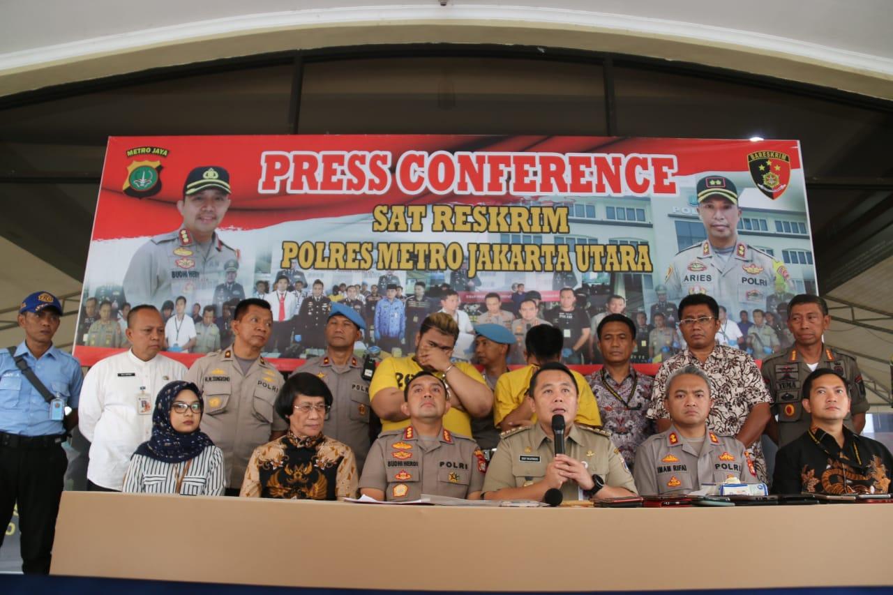 Polres Jakut Amankan 34 PSK di Gang Royang Penjaringan 101