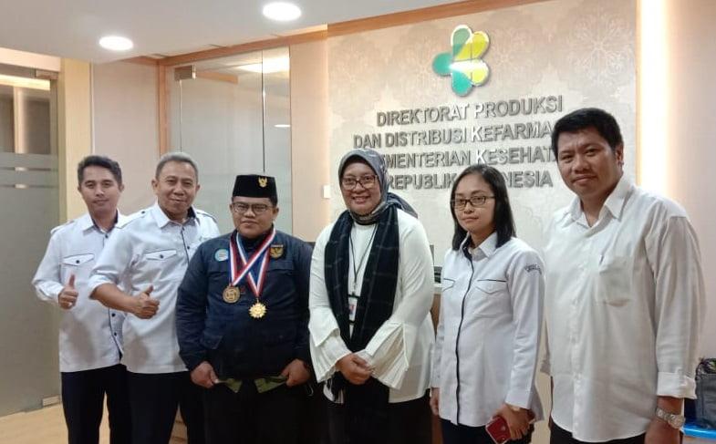 Kemenkes RI Dukung Perizinan Pabrik CV. Biofar Shrimp Skincare 101