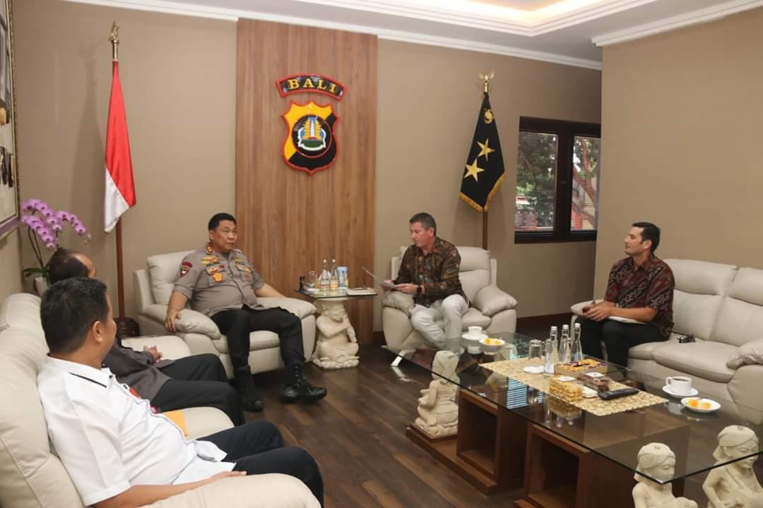 Kapolda Bali Terima Kunjungan Dari Australian Federal Police 114