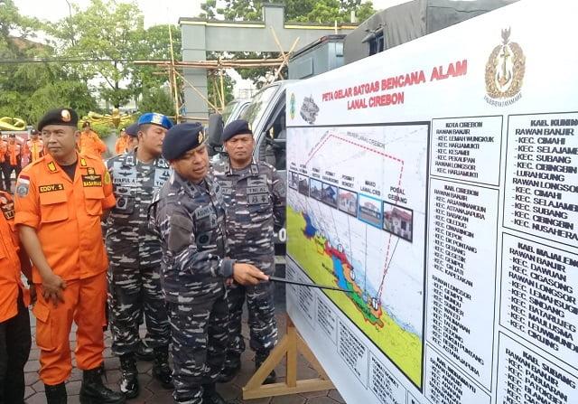 TNI AL Cirebon Siap Bantu Penanggulangan Bencana Alam 101