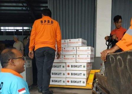 Pemprov DKI Terus Salurkan Bantuan Logistik ke Posko Pengungsian 113