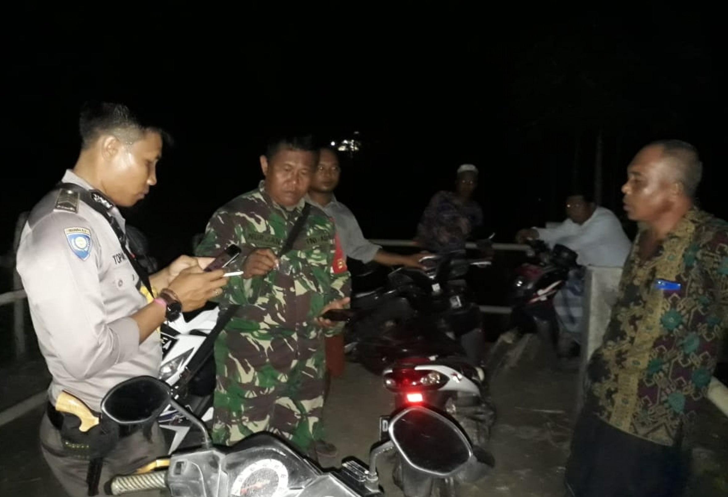 Berantas Narkoba, 2 Unit SPM dan Paket Sabu Diamankan Babinsa dan Babinkamtibmas Teduh 101