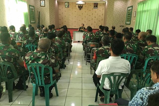 Lepas Petugas Penebalan Apter di Kodam Cendrawasih dan Kaswari, Dandim 0502 Jakut: Kami Akan Jaga Keluarga Kalian 114