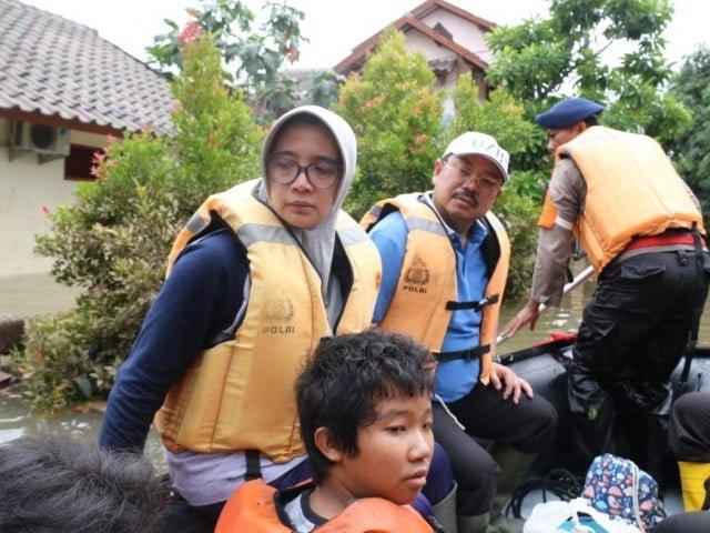 Ketua Ombudsman RI Pantau Langsung Penanganan Banjir di Sejumlah Titik di Bekasi 113