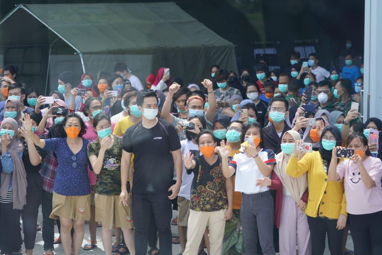Esok Observasi Terakhir, Seluruh WNI dari Wuhan Akan Dibawa ke Jakarta Sabtu Siang 113