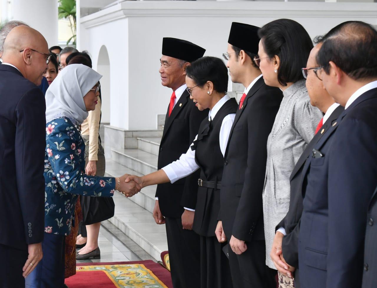 Indonesia-Singapura Sepakat Tingkatkan Kerja Sama di Sejumlah Bidang 114