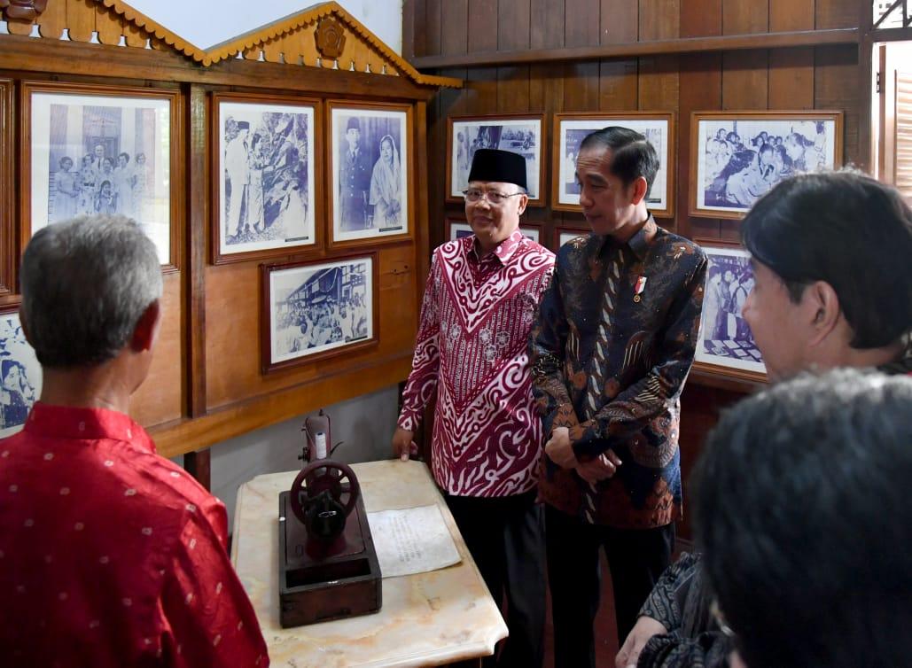 Sebelum Resmikan Monumen, Presiden Sambangi Rumah Ibu Fatmawati 114