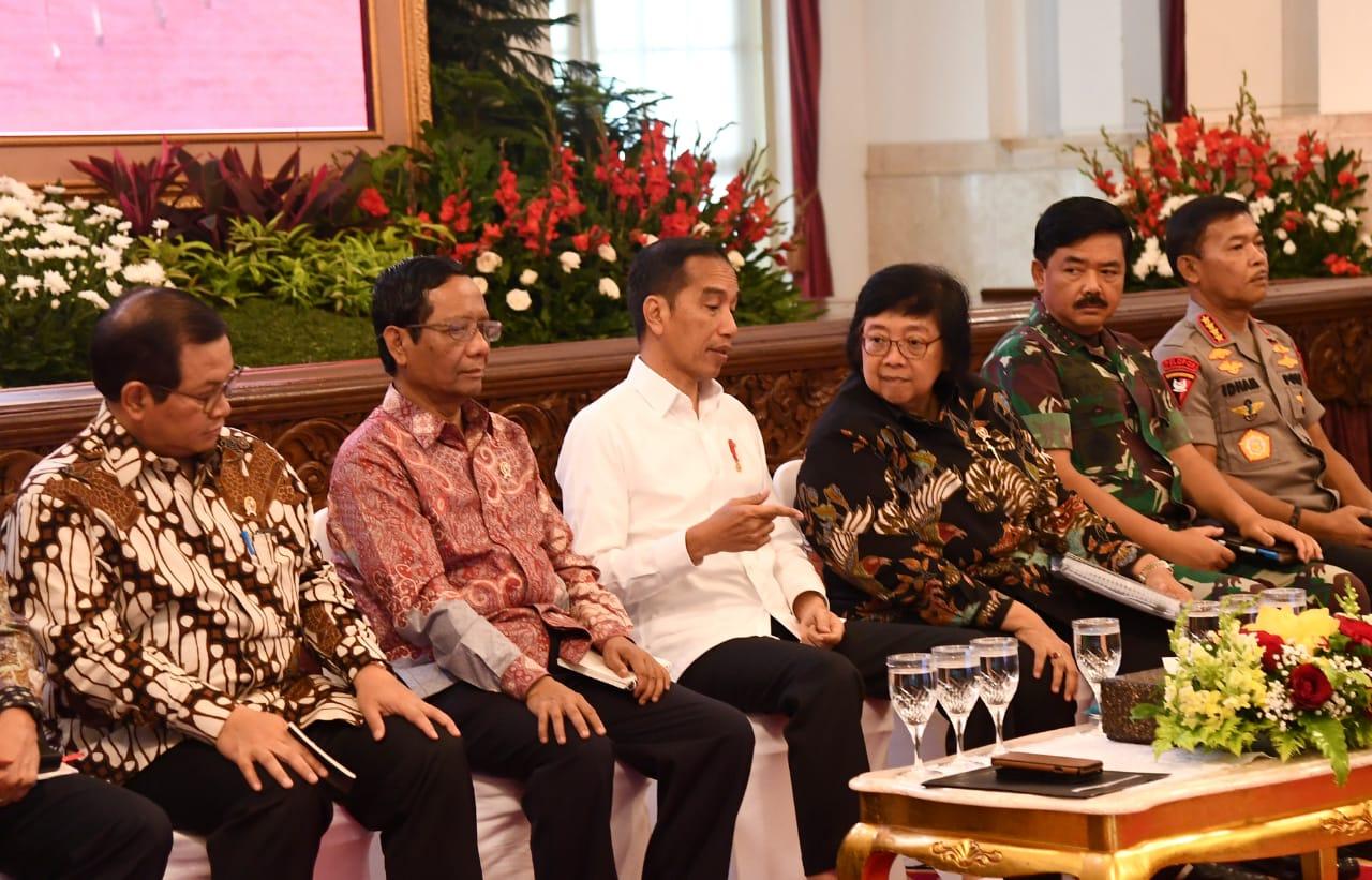 Soal Karhutla, Presiden Jokowi : Aturannya Masih Sama! 102