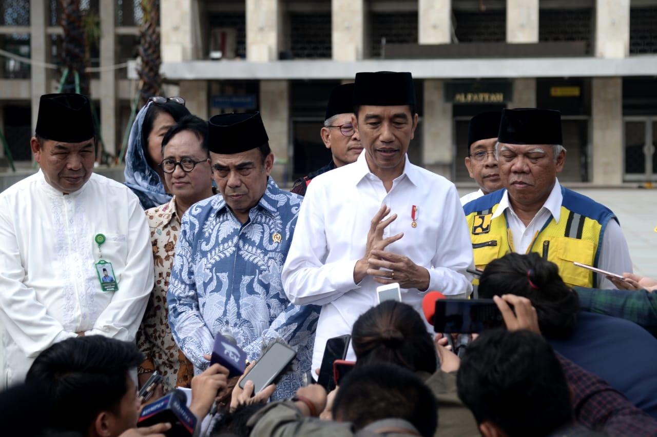 Tinjau Renovasi Istiqlal, Presiden Setujui Usulan Terowongan Penghubung Silaturahmi Istiqlal-Katedral 113