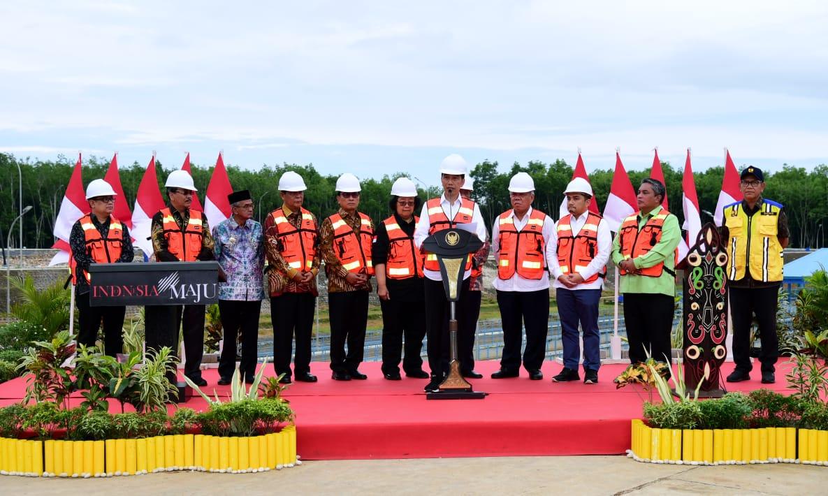 Presiden Jokowi Apresiasi Model Pengelolaan Sampah Lintas Kabupaten dan Kota di TPA Banjarbakula 111