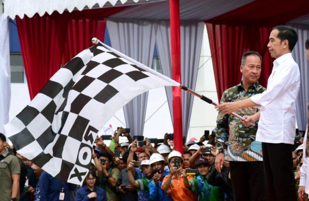 Presiden Jokowi Resmikan Fasilitas Produksi Rayon dan Benang Terbesar di Indonesia 101
