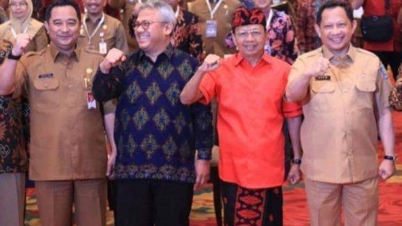 Gubernur Wayan Koster Menyampaikan Apresiasinya Atas Penyelenggaraan Rapat Koordinasi di Bali