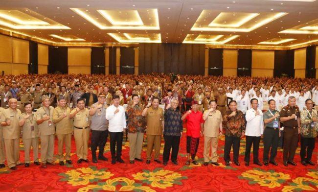 Kapolda Bali Hadiri Rakor Deteksi Dini Pilkada Serentak 2020 102