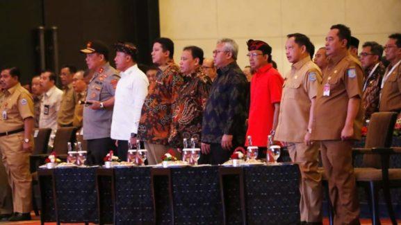 Kapolda Bali Hadiri Rakor Deteksi Dini Pilkada Serentak 2020