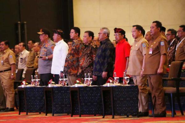 Kapolda Bali Hadiri Rakor Deteksi Dini Pilkada Serentak 2020 101