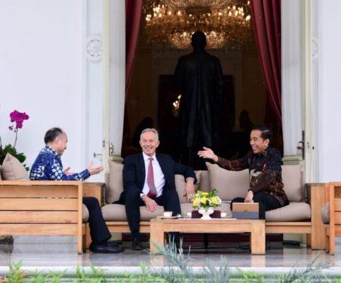 Bertemu Presiden Jokowi, Tony Blair Sebut Pemindahan Ibu Kota Visi Luar Biasa 101