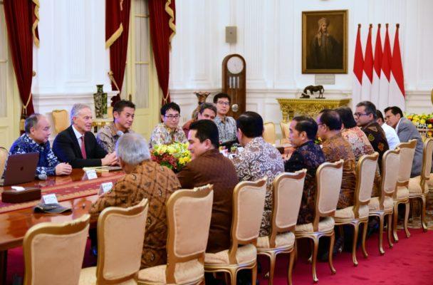 Bertemu Presiden Jokowi, Tony Blair Sebut Pemindahan Ibu Kota Visi Luar Biasa 102