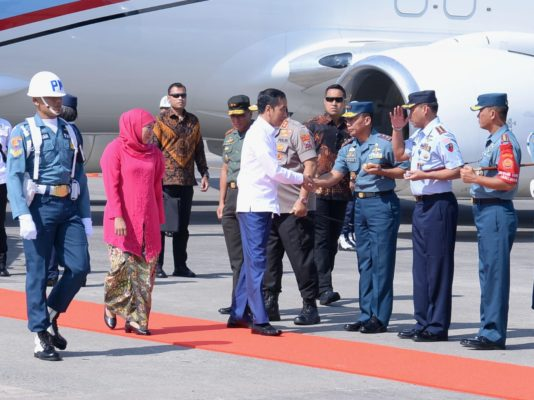 Bertolak ke Surabaya, Presiden Akan Hadiri Pengukuhan Guru Besar K.H. Asep Saifuddin Chalim 101