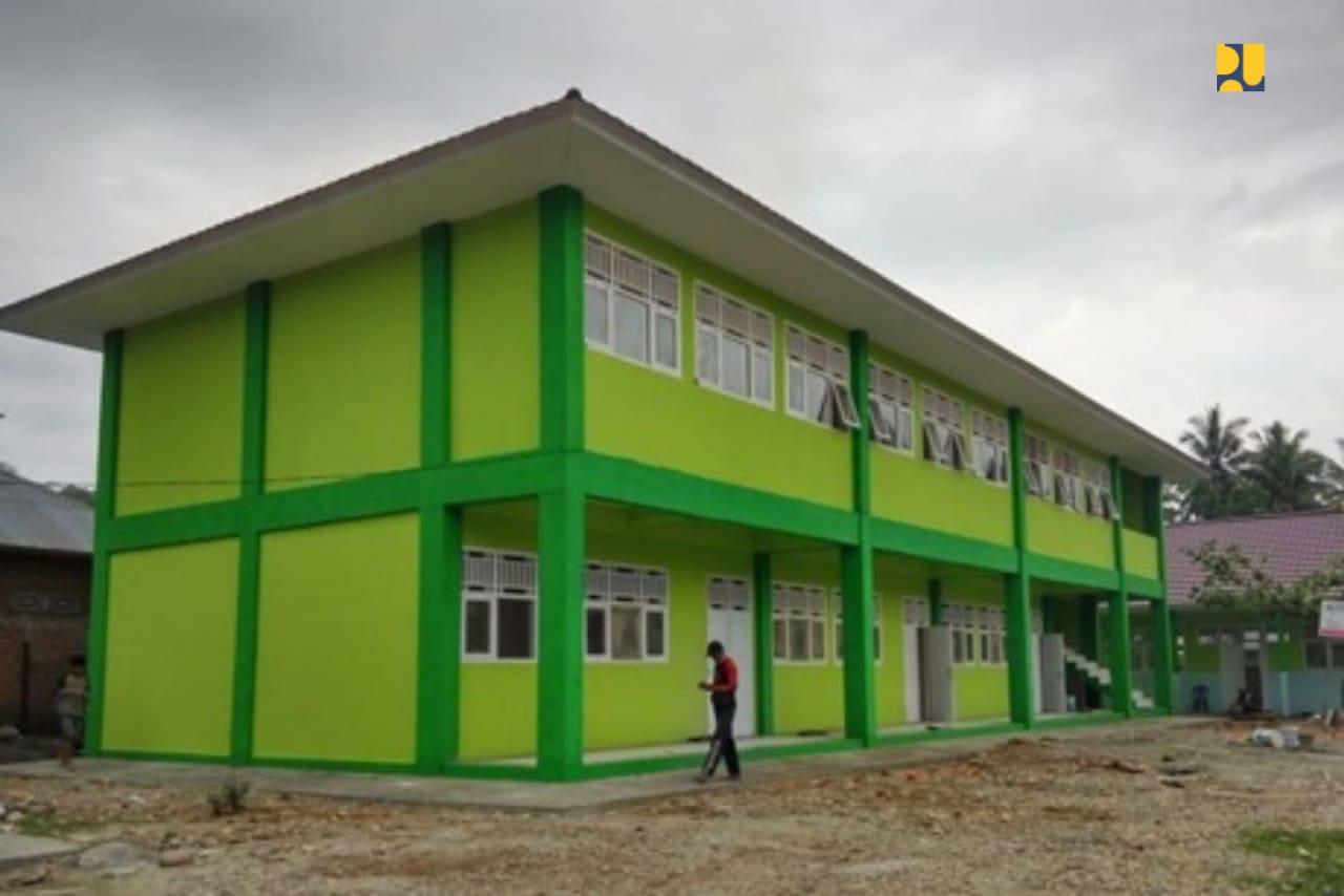 Selama Tahun 2019, Pemerintah Rehabilitasi 1.679 Sekolah dan 179 Madrasah 113