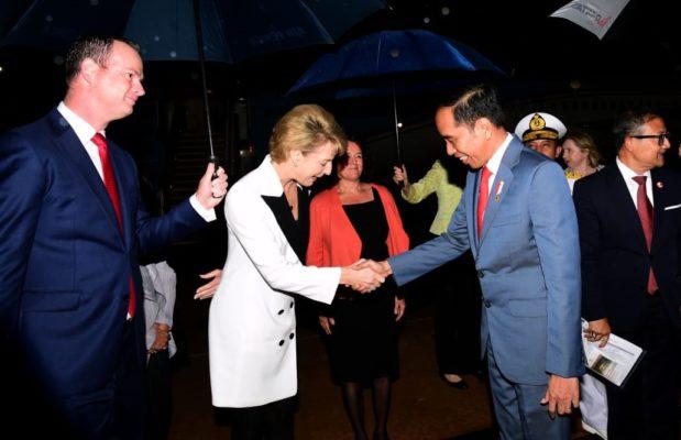 Presiden Jokowi Tiba di Canberra - Australia 101