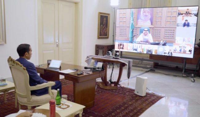 """Presiden Jokowi Ajak Negara G20 """"Perang"""" Lawan Covid-19 dan Pelemahan Ekonomi Dunia 101"""