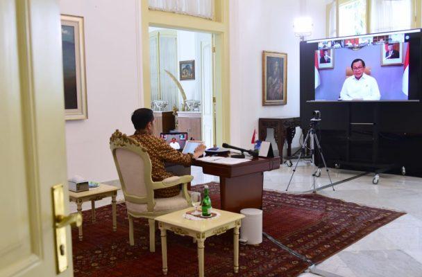 Pimpin Ratas Soal Mudik, Presiden: Fokus Kita Mencegah Meluasnya Covid-19 111