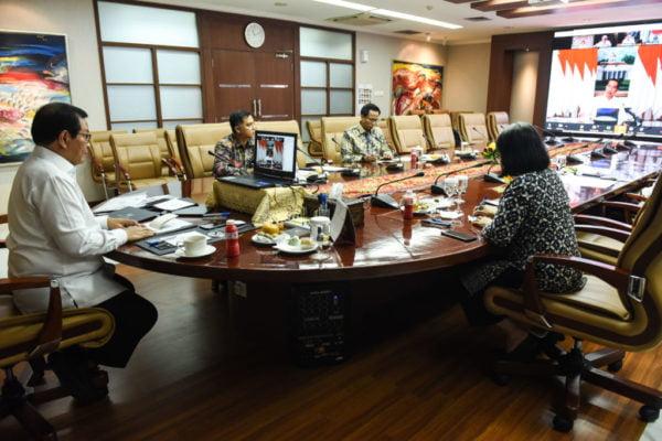 Presiden Evaluasi Pelaksanaan Rehabilitasi dan Rekonstruksi Pascabencana Gempa NTB 101