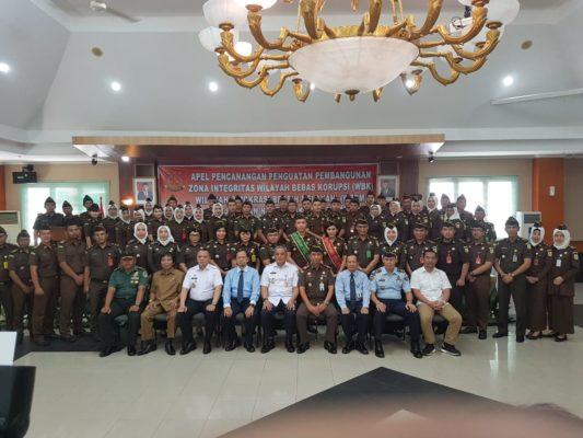 Kejari Jakarta Pusat Gelar Apel Ikrar dan Komitmen Bersama 101