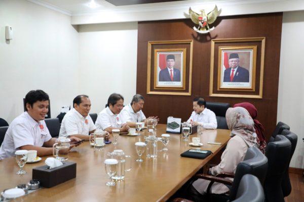 Terima Pengurus DPP REI, Menteri Suharso Minta Pengusaha Real Estate Bantu Pemerintah 102