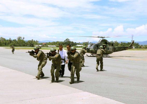 """Satgas Pamrahwan Papua Yonko 462 Paskhas Gelar """"LKO"""" 101"""