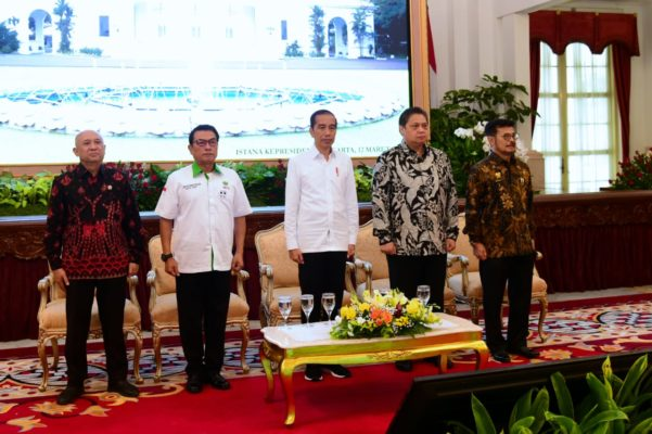 Presiden : Tingkatkan Manajemen Pertanian untuk Ekonomi dan Kesejahteraan Rakyat 101