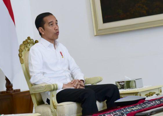 Presiden Minta Kementerian Arahkan Program untuk Dukung Penanganan Pandemi Korona 101