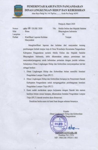"Polemik ""Pelayanan"" Dinas Lingkungan Hidup dan Kebersihan Kabupaten Pangandaran 102"