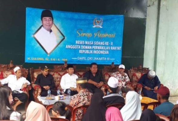 Reses H. Lulung, Anggota DPR: Warga Keluhkan Pom Bensin 'tanpa' Amdal, Ruko dan Agen Gas 101