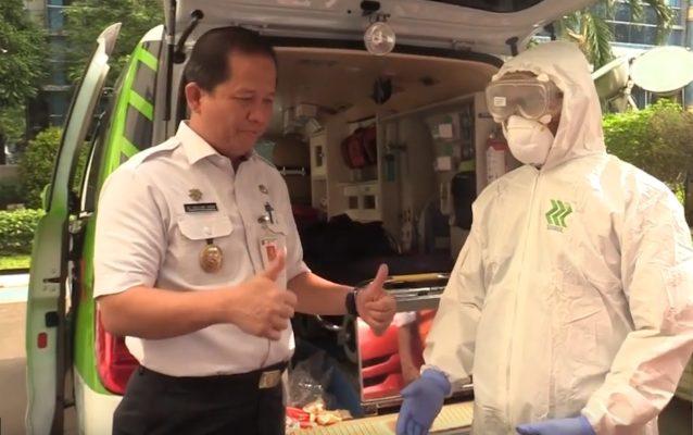 Cegah Corona, Pemkot Jakut Siagakan 6 Ambulan Khusus 101