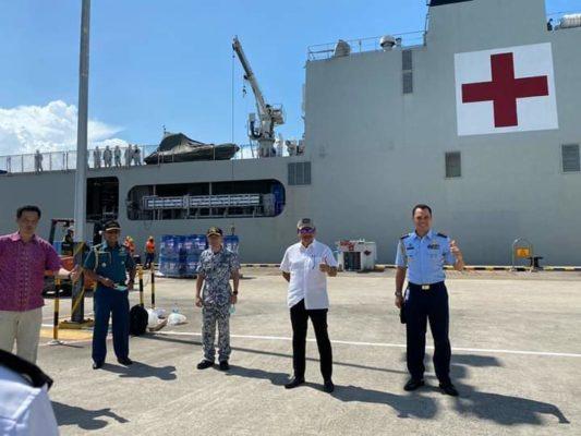 Pengiriman Bantuan Singapura Kepada Masyarakat Batam Dalam Upaya Penanggulangan Covid-19 101