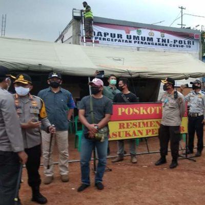 Dirikan Dapur Umum, Soliditas TNI-POLRI Ringankan Kesulitan Masyarakat 110