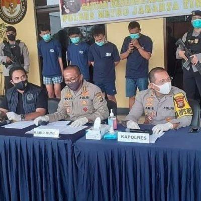Polda Metro Jaya Bersama Polres Jaktim Rilis Pengungkapan Tawuran Remaja Ciracas dan Perampokan Minimarket 113