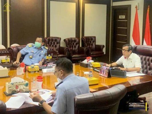 Yasonna Laoly Ingatkan Kakanwil Kumham Tingkatkan Koordinasi dengan Kepolisian 102