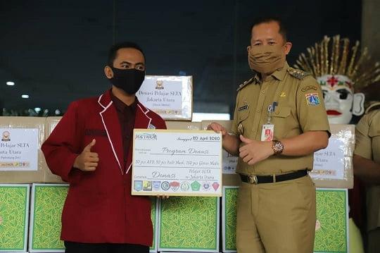 Pelajar SLTA Jakarta Utara Sumbang Puluhan APD dan Sembako 113
