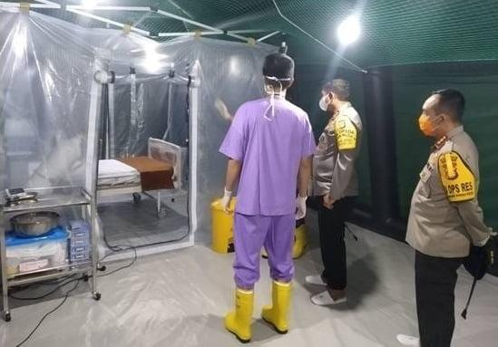 Kapolda Metro Jaya Nana Sudjana: Kami Apresiasi Rumah Sakit Lapangan di Ancol 113