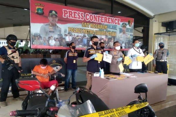 3 Pelaku Curanmor Bersenjata Beraksi di Tengah Ancaman Corona, Ditangkap Polisi 101