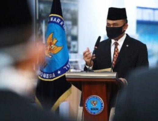 21 Pejabat Baru BNN Dilantik 113