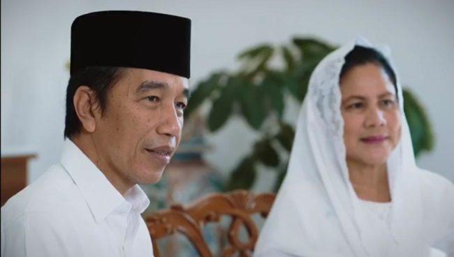 Presiden Jokowi dan Ibu Negara Ucapkan Selamat Idulfitri 102