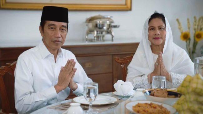 Presiden Jokowi dan Ibu Negara Ucapkan Selamat Idulfitri 101