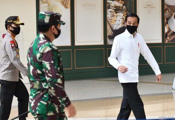 Presiden Tinjau Kesiapan Menuju Tatanan Normal Baru di Bekasi 114
