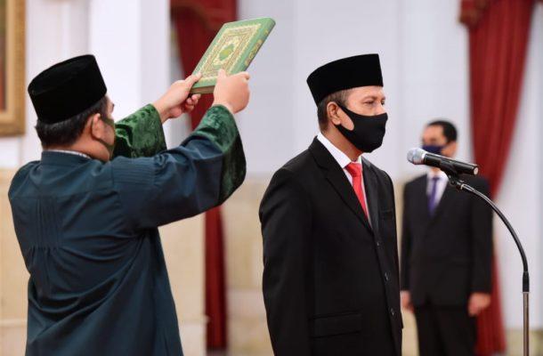 Presiden Jokowi Lantik Boy Rafli Amar Sebagai Kepala BNPT 113
